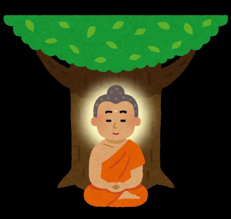 菩提樹と仏陀