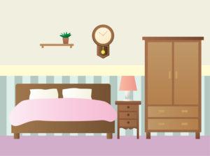 ベッド、インテリア、事務用品