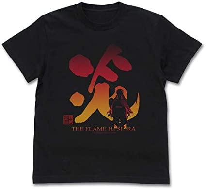 鬼滅の刃 炎柱 煉獄杏寿郎 Tシャツ ブラック
