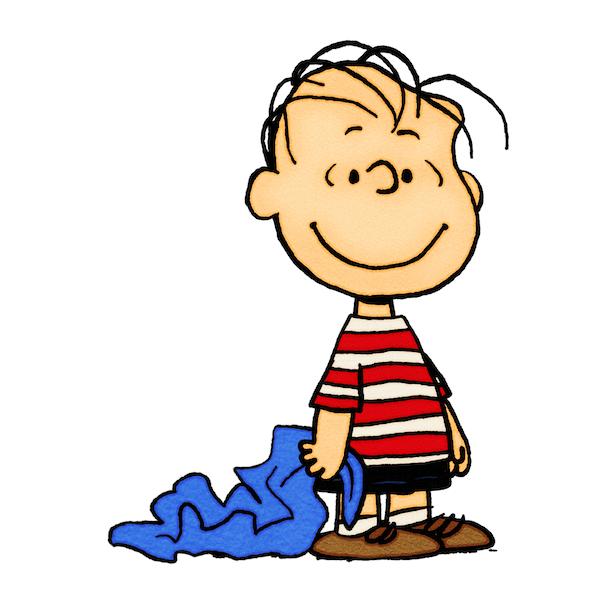 ライナスの毛布